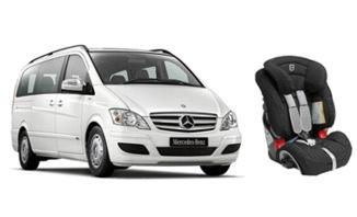 Fahrzeuge für Hoteltransfers am Antalya Flughafen